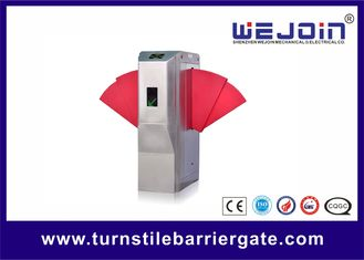 Widen Lane SS Automatic Turnstiles Flap Barrier Electro - Mechanical Design