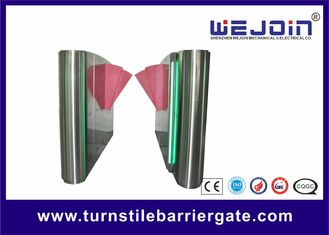 Wing 600mm SST 304 Full automatic Flap Turnstile Barrier Gate