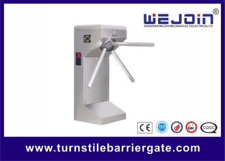 الصين Supermarket Safety Tripod Turnstile Barrier Gate for Customers Access Management مصنع