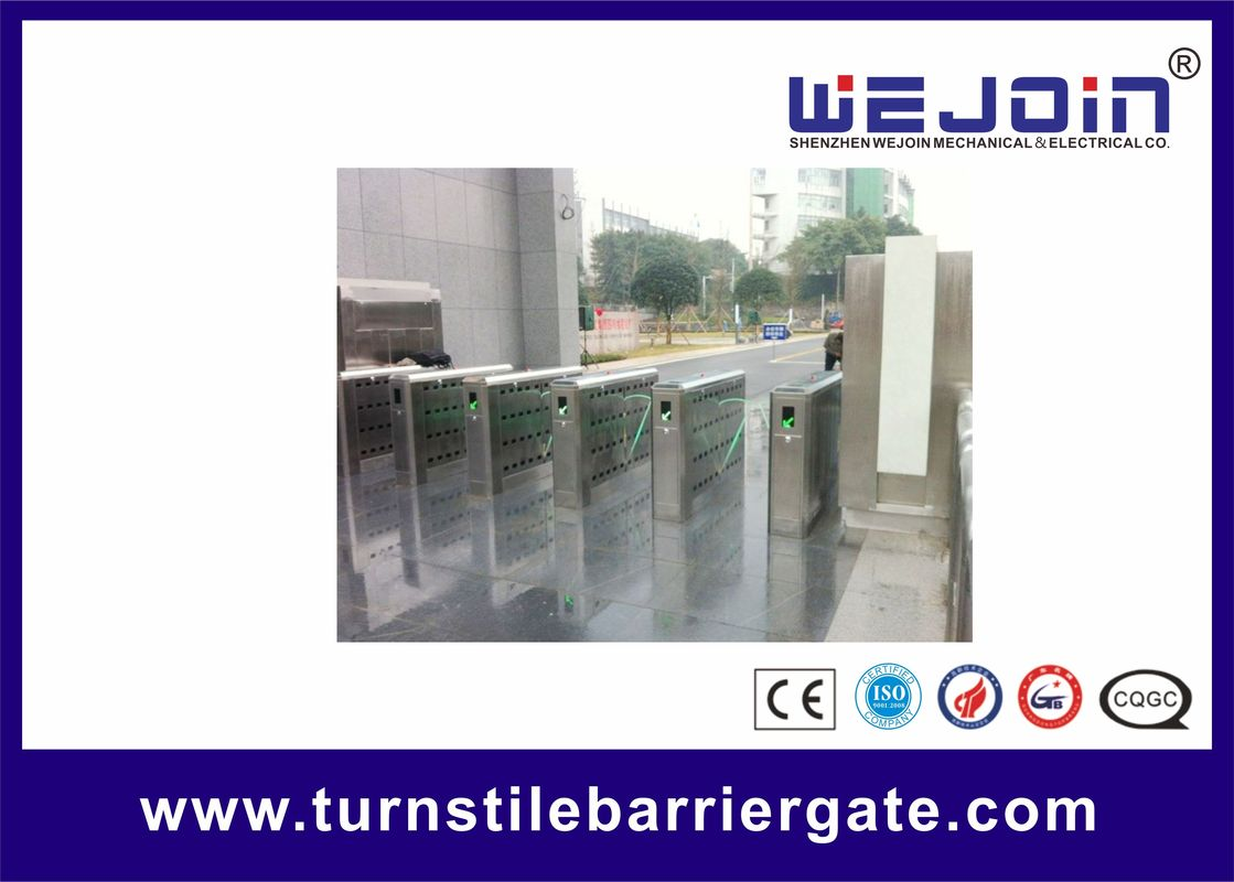 Flow Control Handicap Flap Pedestrian Barrier Gate Optical Turnstiles المزود
