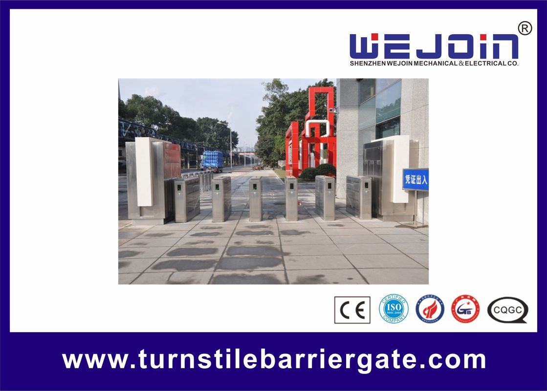 Fast Speed SST 304 Access Turnstiles Pedestrian Queuing Systems المزود
