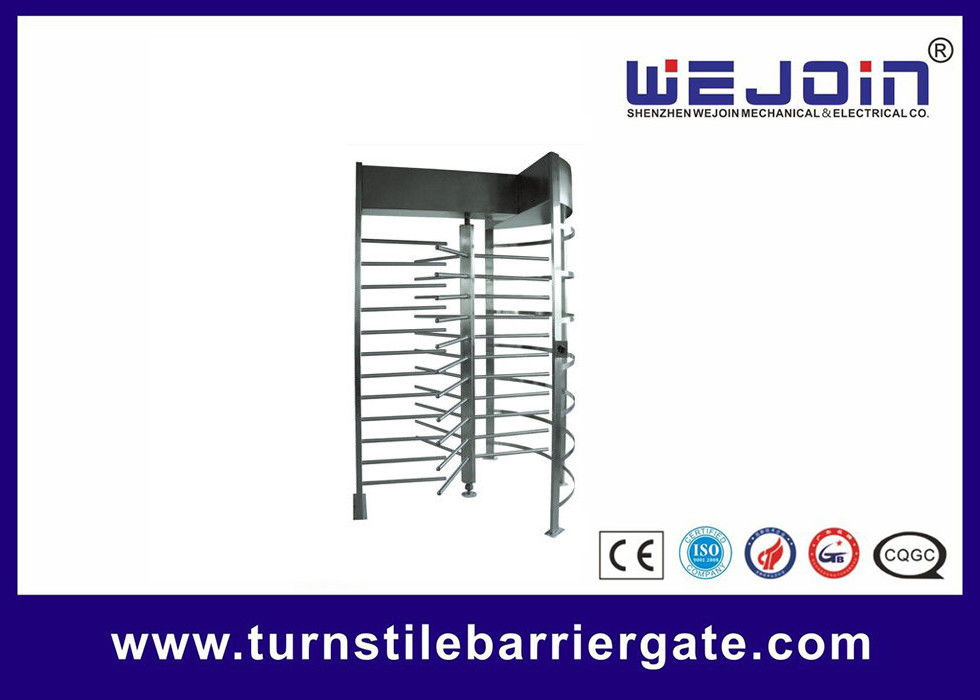 Stainless Steel Manual Full Height Turnstile Speed Gate Systems for Highway toll المزود