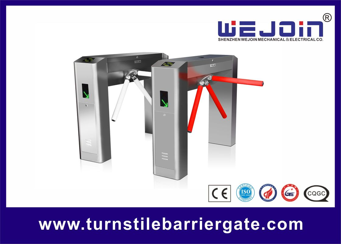 Waterproof Counter 304 Access Control Turnstile Security Tripod Gate Full Automatic
